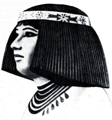 Картинки причесок древнего египта