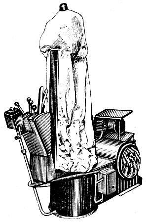 Рис. 63. Паровоздушный манекен
