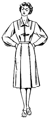 Строгое женское платье выкройка
