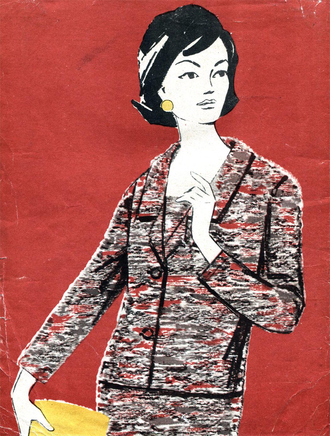 Мода 1965 года фото